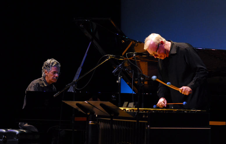 Chick Corea, Gary Burton, Lensic Theater, Santa Fe, May 1, 2011