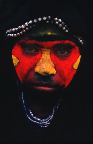 Highlander #2, at a Sing-Sing, Papua New Guinea