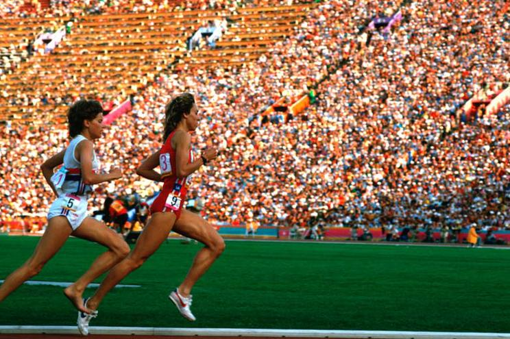 Zola Budd, Mary Decker