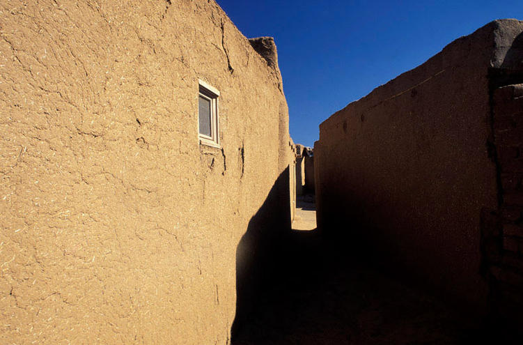 Walls, Taos Pueblo, New Mexico