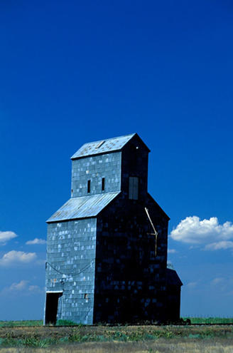 Wheat Silo, Kansas