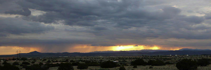 Summer Sunset, Santa Fe, NM  2009