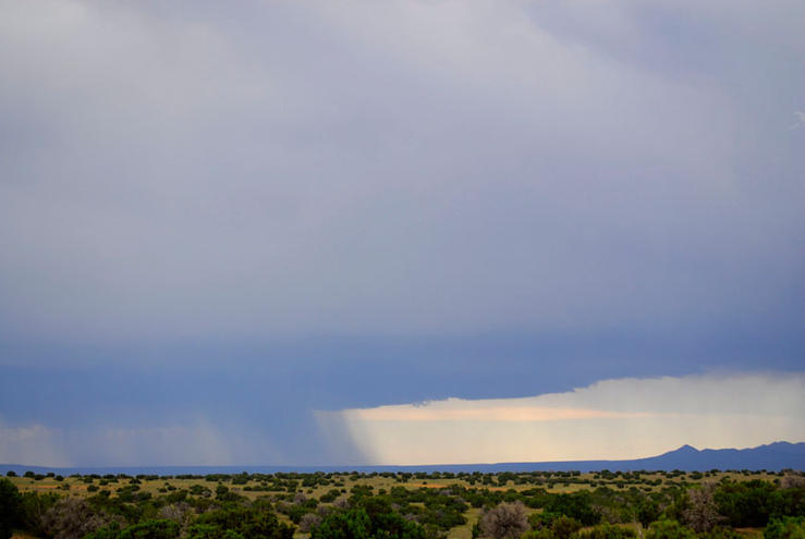 Rain Clouds, New Mexico