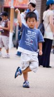 Boy Posing, EXPO 2005, Nagoya, Japan